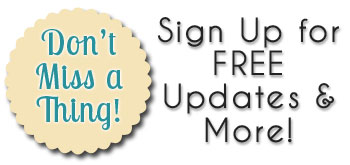 Don't Miss a Thing! Sign Up for Free Updates & More at The Decorating Files!
