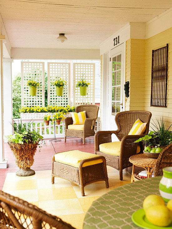 Porch decorating ideas creating a fabulous space - Outdoor decorating ideas ...