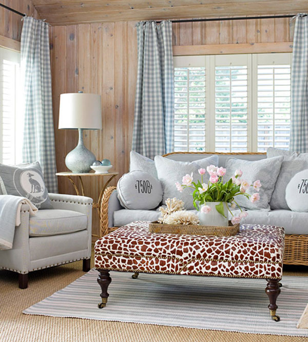 gingham a fresh new look for a classic style. Black Bedroom Furniture Sets. Home Design Ideas