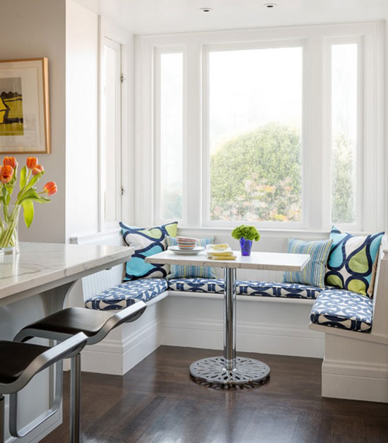Breakfast nooks design tips and inspiration for Eating tables for small spaces