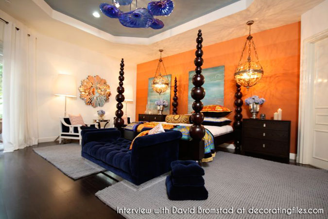 Take five an interview with david bromstad for David bromstad bedroom designs