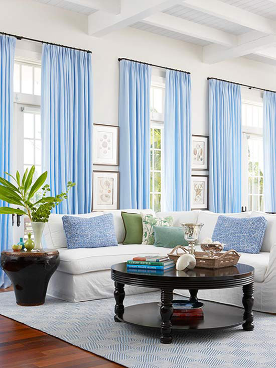 Hanging Curtains With Valances