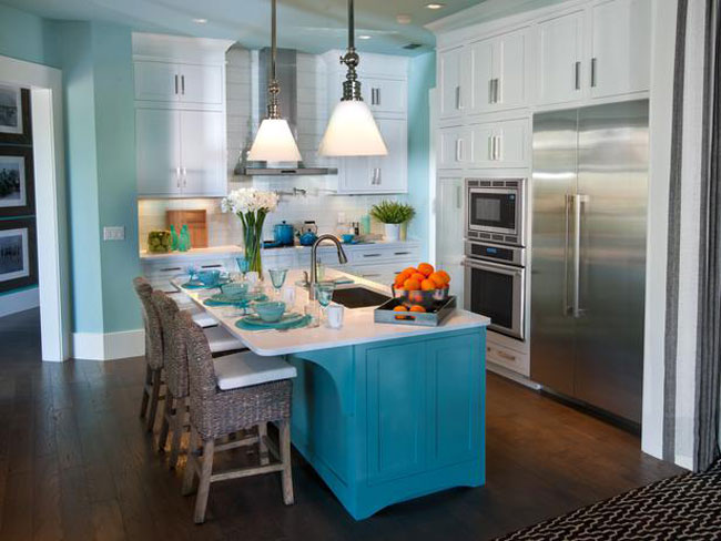 Turquoise Room: Kitchen