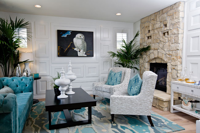 Turquoise Living Room Ideas | Simple House Design Ideas