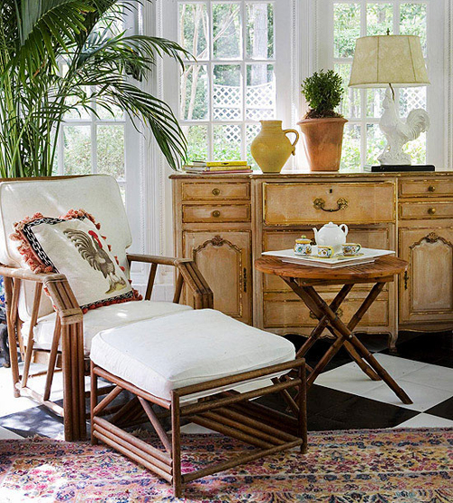 Decorating Sunrooms: Decorate A Room: Adding Finishing Touches