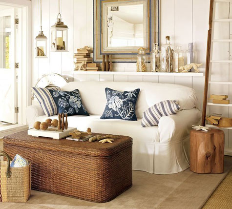 Decorating Styles: American Coastal Style | Decorating Files |  Decoratingfiles.com
