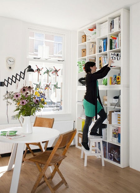 Small space storage ideas 7 simple solutions - Storage solutions for small spaces cheap photos ...