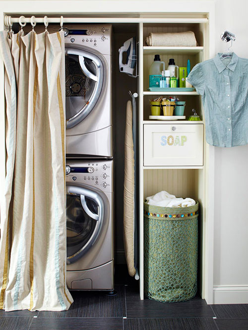 Small space storage ideas 7 simple solutions Storage solutions for small laundry rooms