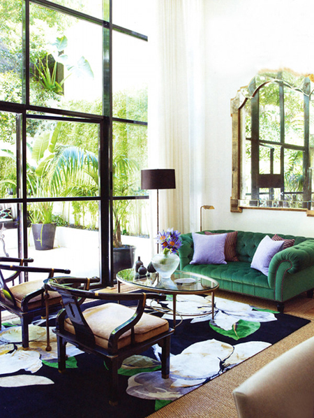Green Rooms: Inspiration for Every Room in the House | The Decorating Files | www.decoratingfiles.com