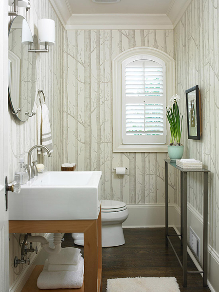 Gallery For Beautiful Small Half Bathrooms