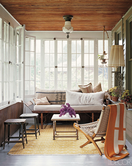 Beautiful Sunroom Decorating Ideas: Creating A Beautiful Space | Decorating Files |  Www.decoratingfiles. Elle Decor