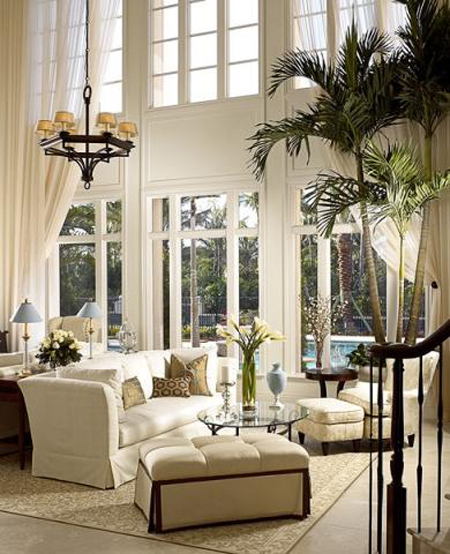 Sunroom decorating ideas 11 gorgeous rooms Two story living room decorating ideas