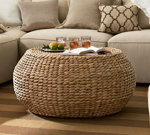 Impressive Round Woven Coffee Table 500 x 450 · 70 kB · jpeg