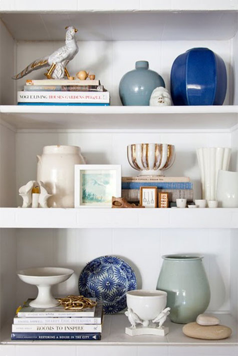 Decorating Bookshelves: 12 Helpful Tips & Ideas | Decorating Files |  decoratingfiles.com