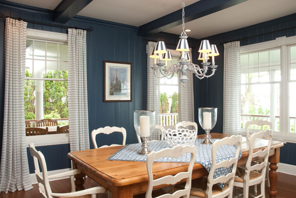 Wall Colour Inspiration: Blue Dining Room: 12 Ideas For Inspiration