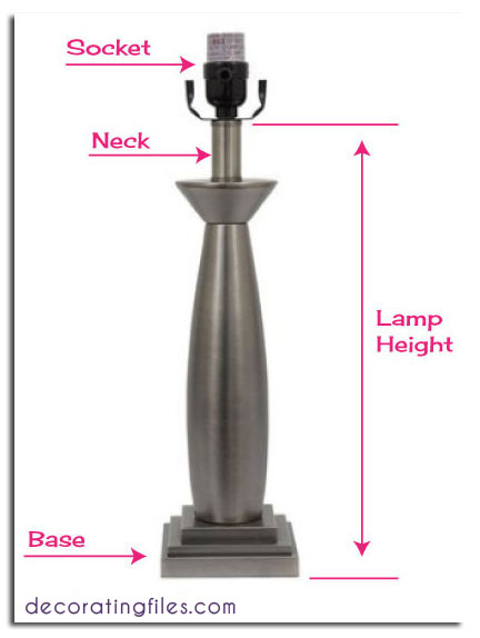 How to Size a Lampshade & Other Tips for Table Lamps