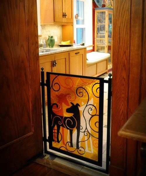 Pet Gates: 6 Clever & Creative Solutions | Decorating Files | decoratingfiles.com