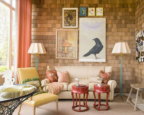 Decorating A Room With Shaker Shingle Walls