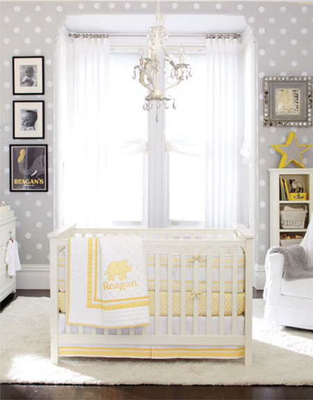 10 gender neutral nursery decorating ideas for Baby room decor ideas unisex
