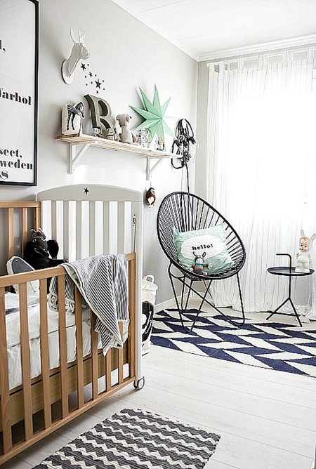 10 gender neutral nursery decorating ideas for Accessoires decoration