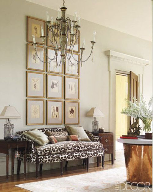 How to Decorate Tall Walls