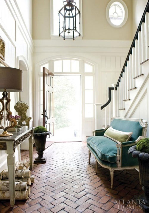 Beautiful House Foyers : Ask the decorating files tall walls