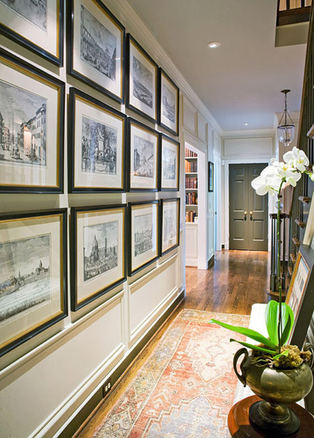 Hallway decorating ideas how to add style for Hallway decorating ideas