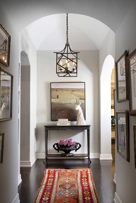 Narrow Foyer Lighting : Hallway decorating ideas how to add style