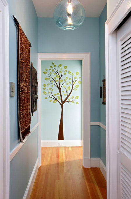 Hallway decorating ideas how to add style for End of hallway ideas