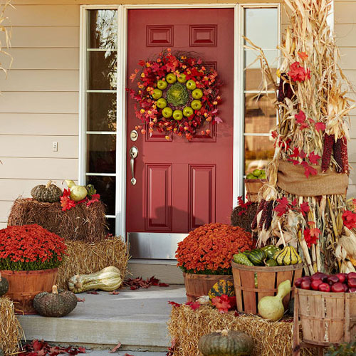 Fresh Fall Home Decorating Ideas Home Tour: 10 Entryway Ideas That Celebrate Fall In Style
