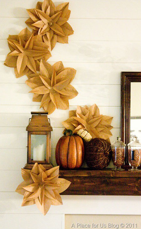 Fall Craft Ideas For The Home | Decorating Files | Decoratingfiles.com  #fallcraftideas