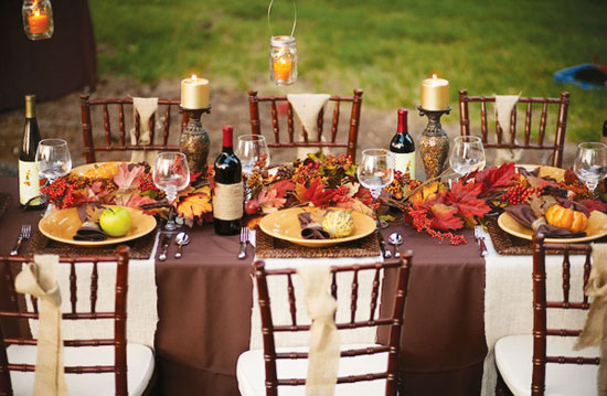 Tabletop tuesday outdoor thanksgiving table ideas Thanksgiving table