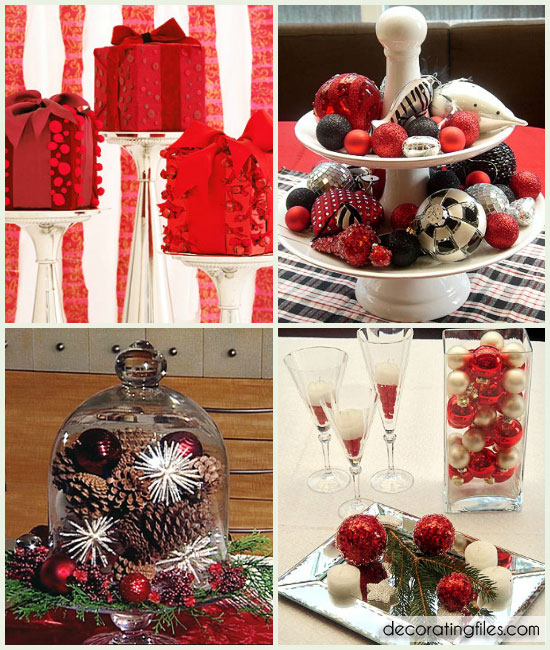 Christmas Centerpiece Ideas Home Staging Accessories 2014