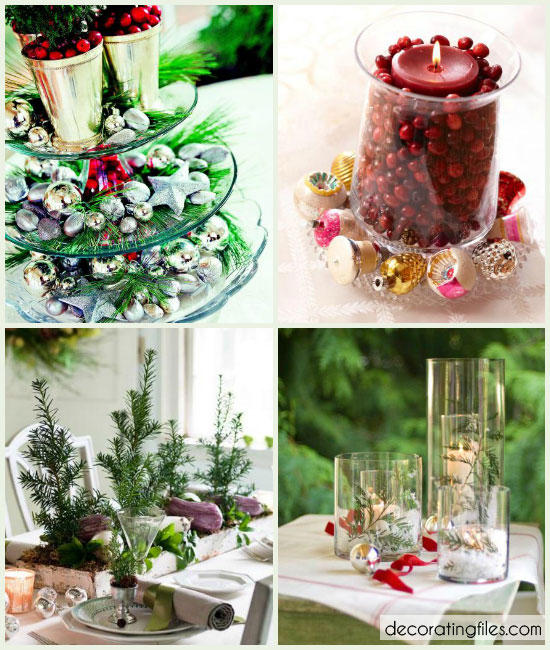 28 Christmas Centerpiece Ideas That Are Quick & Easy! | Decorating Files | #christmascenterpieceideas