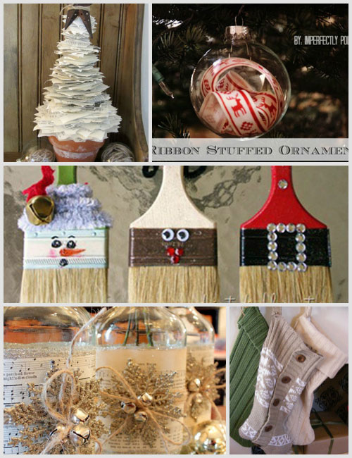 Christmas Crafts Round-Up: 20 Projects | Decorating Files | #christmascrafts