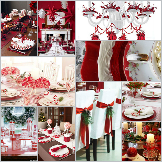 Christmas Table Settings Round-Up 27 Fabulous Ideas | Decorating Files | #christma & Christmas Table Settings Round-Up: 27 Fabulous Ideas