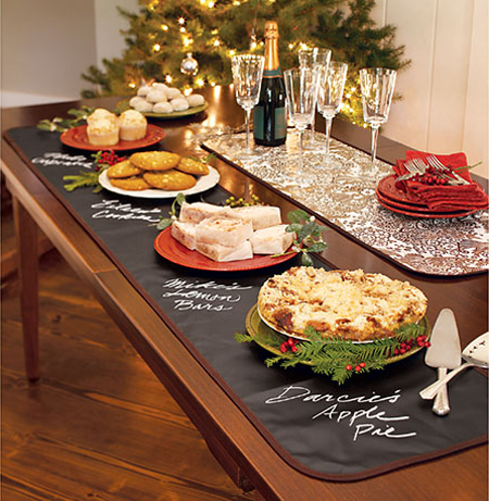 Christmas Buffet Tablescapes 10 Christmas Buffet Table