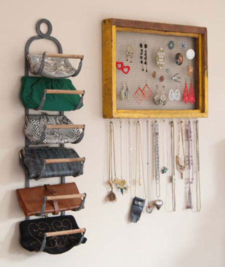 Organize accessories with these 28 clever ideas for Como organizar un periodico mural