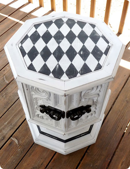 Painting Furniture How To Create Different Patterns