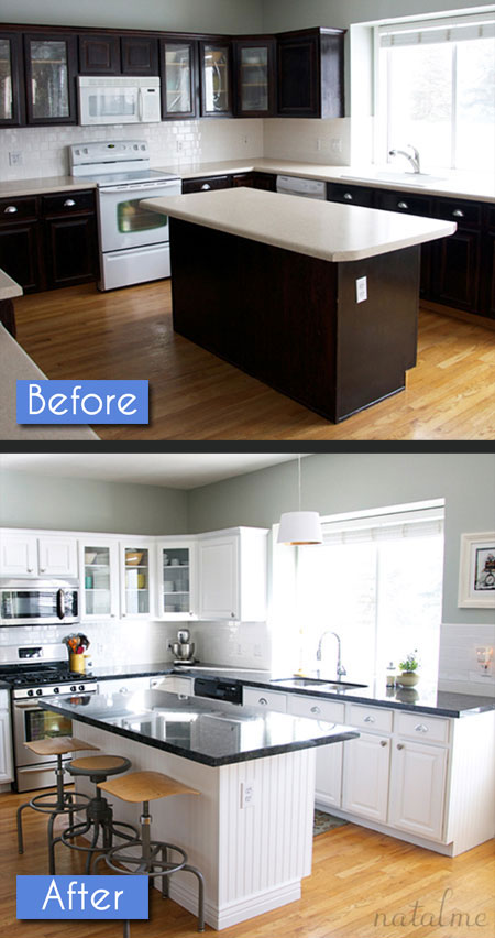 Kitchen Before After Photos 8 Amazing Makeovers