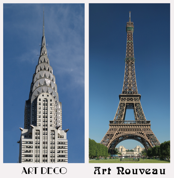 Art Deco Nouveau: Art Deco Or Art Nouveau? How To Tell Which Is Which