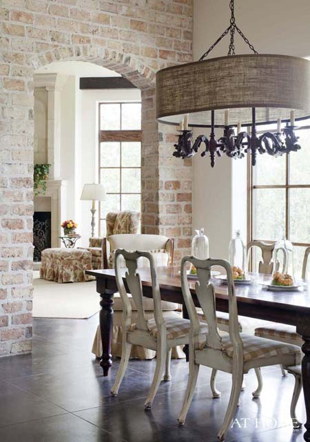 Great Spaces with Exposed Brick | Decorating Files | #exposedbrick