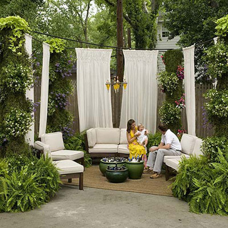 patio designs for warm tubs