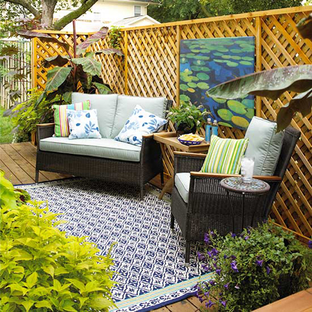 Outdoor spaces 10 ideas for creating privacy for Creating privacy on patio