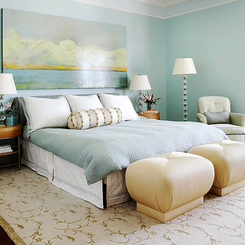 Bedroom decorating ideas what to hang over the bed - Over the bed art ...