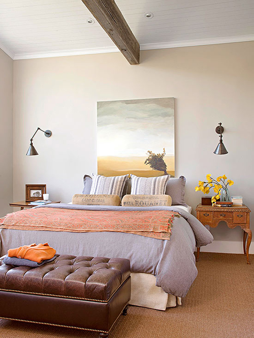 Bedroom decorating ideas what to hang over the bed for Bedroom furnishing ideas