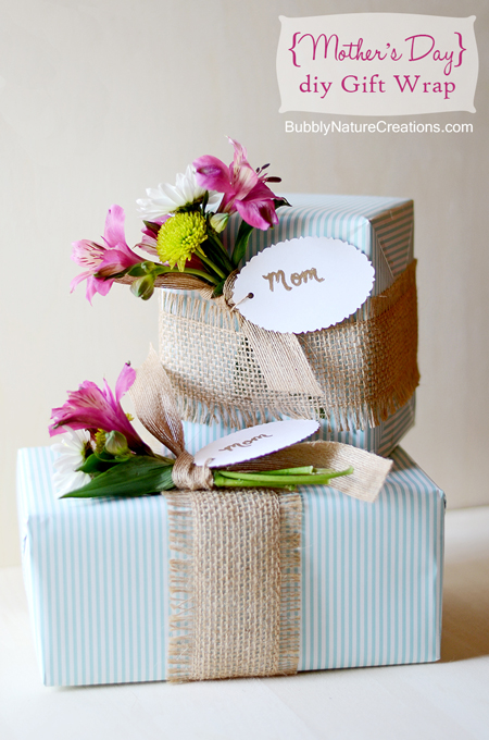 mother 39 s day gift wrapping ideas the decorating files