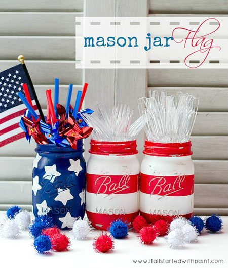 30 Patriotic Home Decoration Ideas In White Blue And Red: 4th Of July Crafts: 10 Fun & Easy DIY Projects