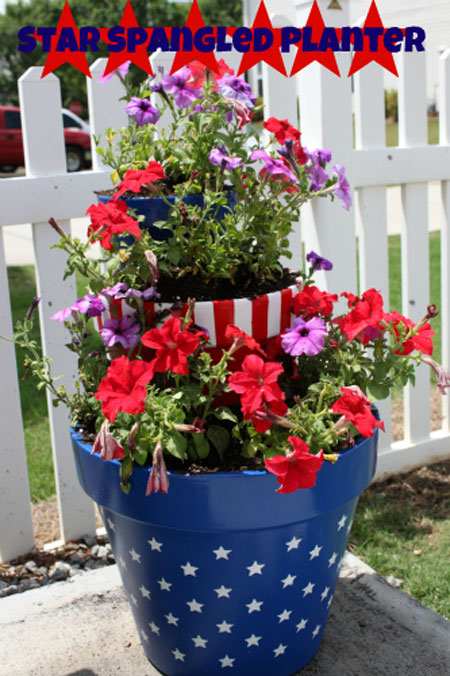 4th of july crafts 10 fun easy diy projects for Diy garden decor ideas pinterest