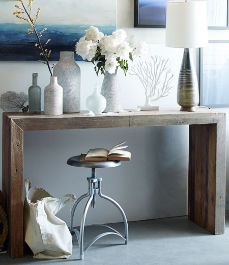 Console Tables: Some Unexpected Ideas